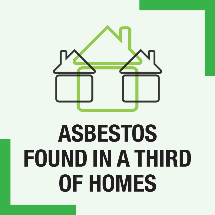 asbestos found in a third of all homes