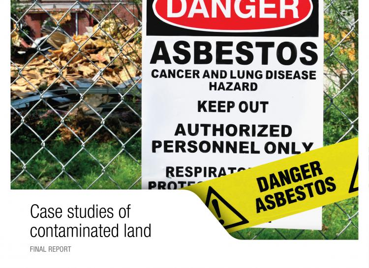 case studies asbestos contaminated land