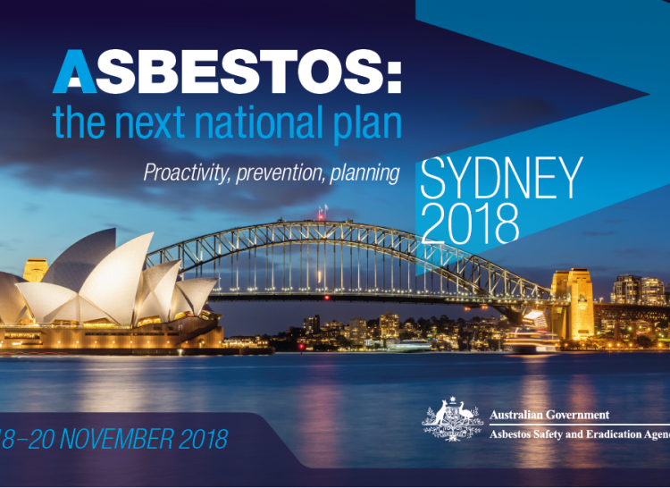 2018 ASEA Conference - Asbestos: the next national plan - proactivity, prevention, planning