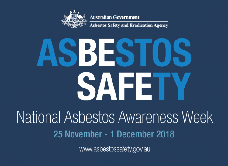 National Asbestos Awareness Week: 25 November - 1 December 2018