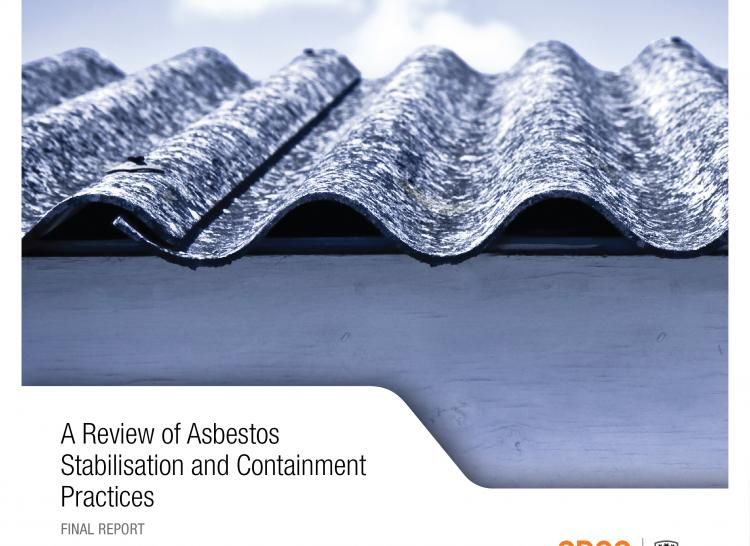 Review of asbestos stabilisation and containment practices